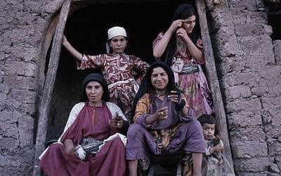 Christian Aramaic speakers in the small village of Harbole in southeast Turkey. (photo credit: courtesy)